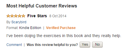 5-star review for The Hallux Valgus Cure